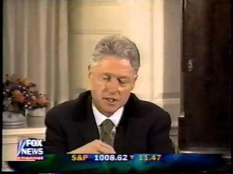 President Clinton Deposition