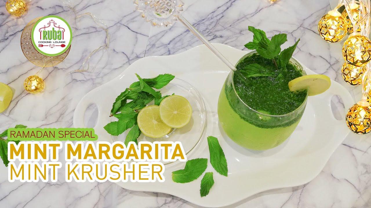 Mint Margarita | Mint Krusher | Mojito | Ramadan Special