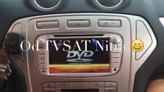 Ford Mondeo radio removal -Multimedia 2 DIN Android radio