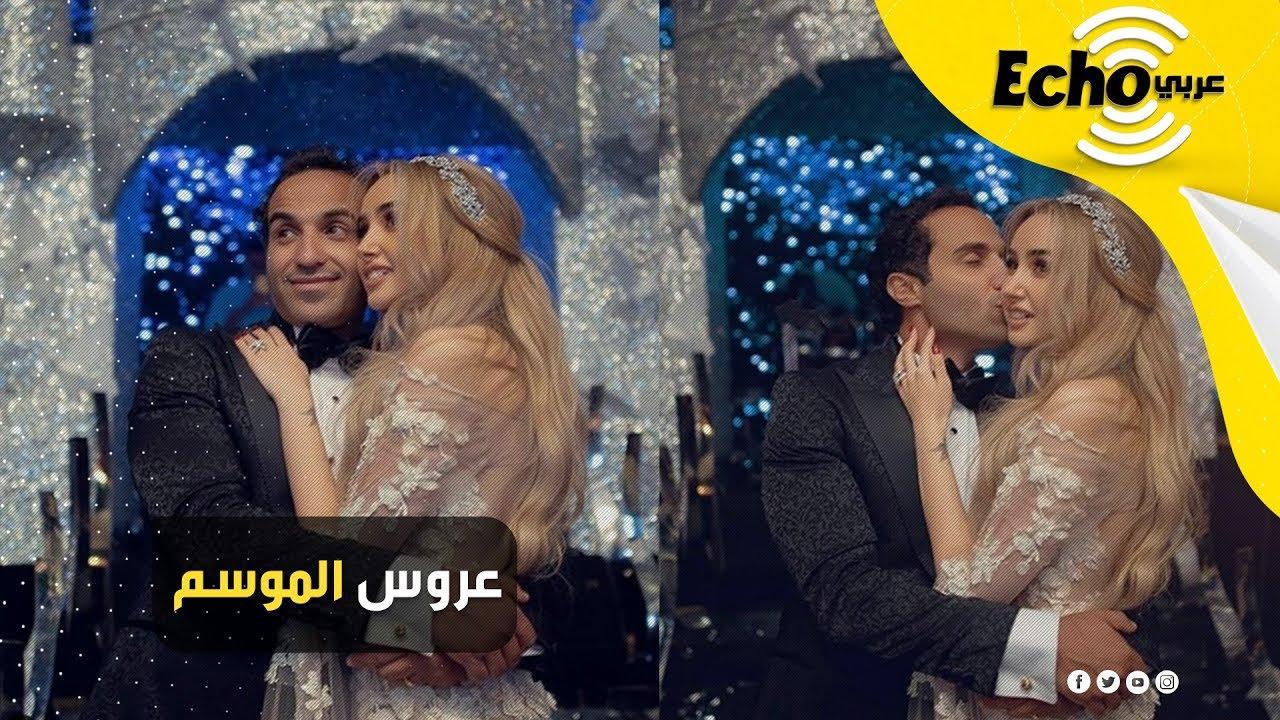 كواليس زفاف هنا الزاهد وأحمد فهمي.. الحفل الأسطوري بإطلالة ديزني لـ