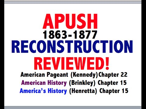 APUSH American Pageant Chapter 22 Review