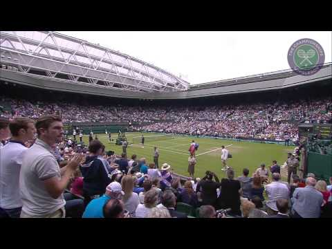 2015 Day 9 Highlights, Vasek Pospisil vs Andy Murray quarter-final
