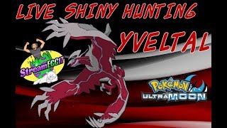 LIVE SHINY HUNTING YVELTAL Pokemon Ultra Moon #3 !!