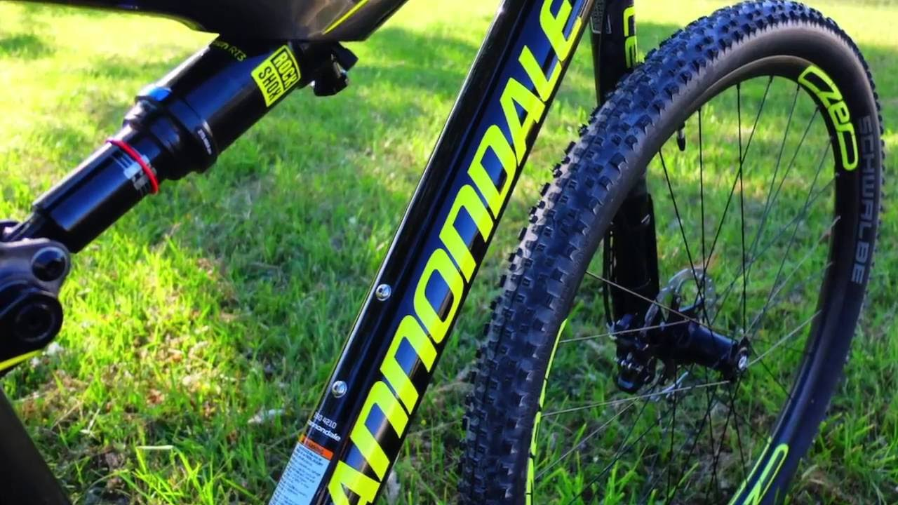 a141bf8d77c Cannondale Scalpel SI Carbon 2 2017 Powered by Kompedal - YouTube