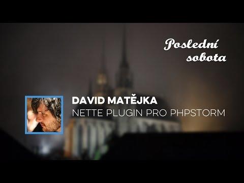 David Matějka - Nette plugin pro PhpStorm