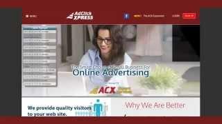 Adclickxpress - уникальный реклмано-инвестиционный проект! Обзор компании и кабинета партнера.