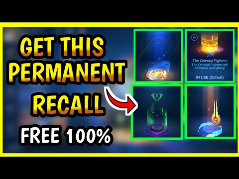 GET FREE PERMANENT RECALL | MOBILE LEGENDS 2020
