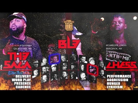 TH3 SAGA VS CHESS  SMACK/ URL RAP BATTLE