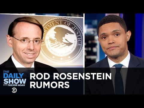 Rod Rosenstein Rumors, Selfie-Related Injuries & A Very Reckless Bus Driver   The Daily Show