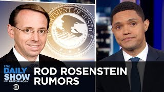 Rod Rosenstein Rumors, Selfie-Related Injuries & A Very Reckless Bus Driver | The Daily Show
