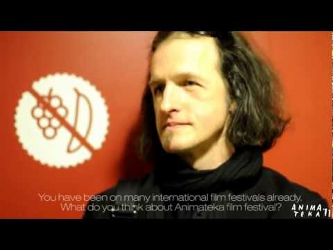 Interview with Gábor Ulrich, Animateka 2011