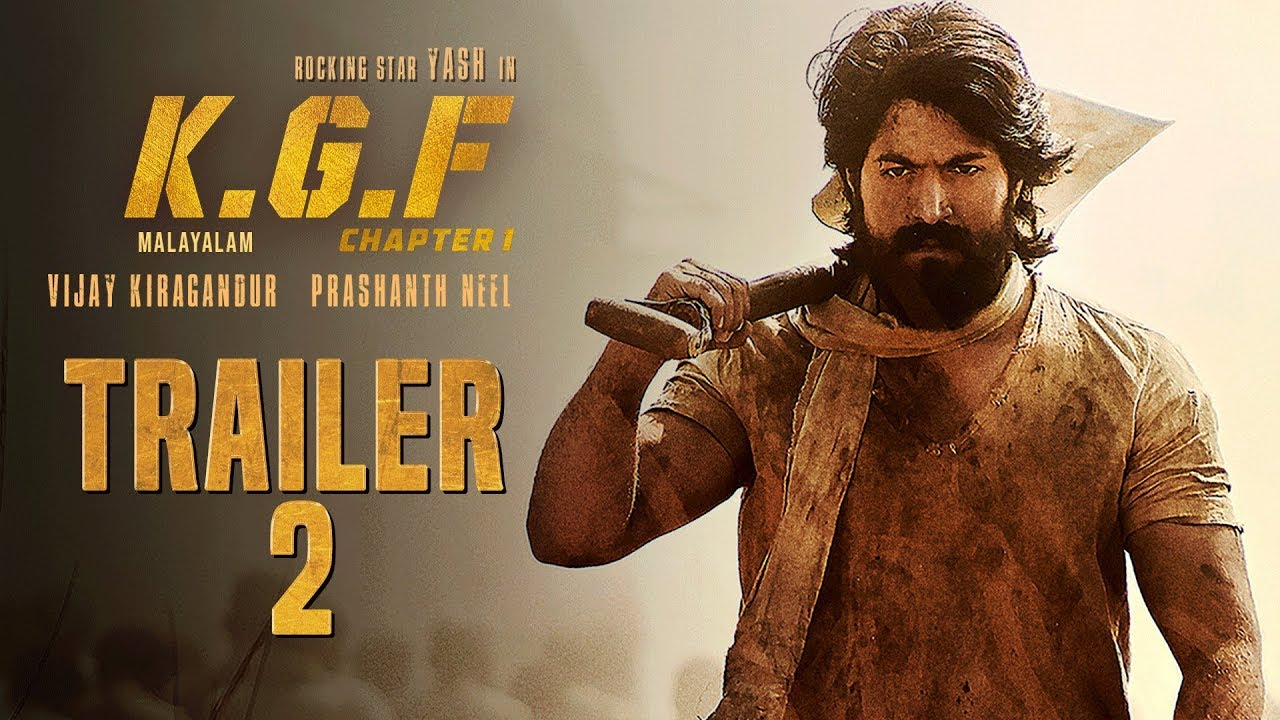 Kgf Chapter 1 Official Trailer 2 Malayalam Yash Srinidhi Shetty
