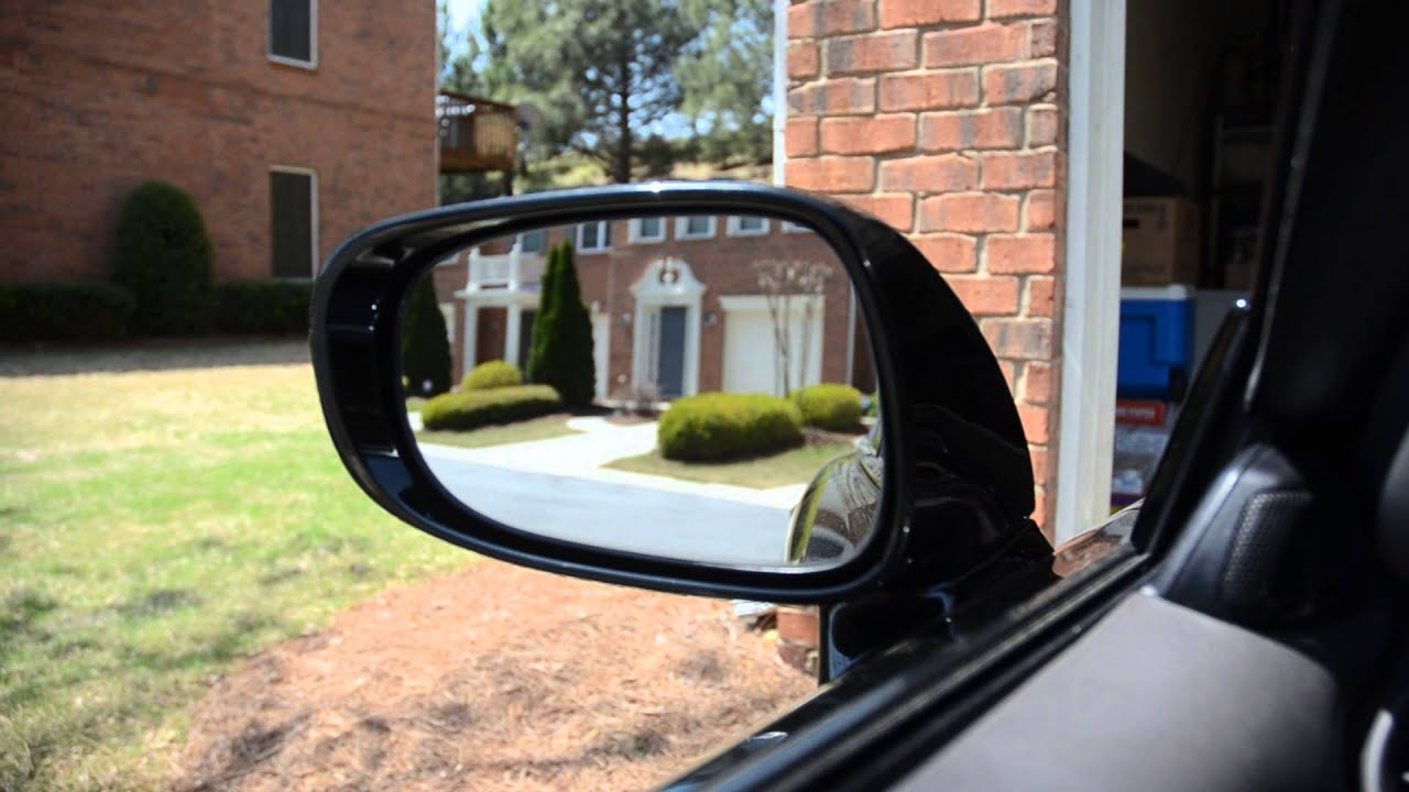 Loose Side View Mirror 2009 Lexus Is350 Youtube