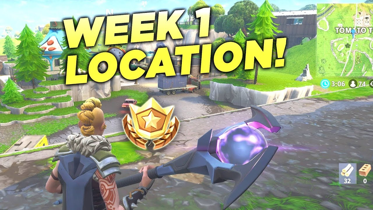 Fortnite Follow The Treasure Map Found In Risky Reels Location Week  Battle Star Challenge