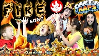 Skylanders Raps: FIRE Element Song Music Video (400th Video) thumbnail