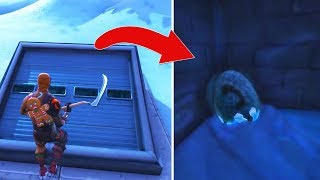I managed to get into the new secret Bunker of Fortnite season 7 and found...