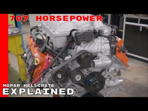 Mopar Hellcrate 6.2-liter Supercharged Crate HEMI Explained