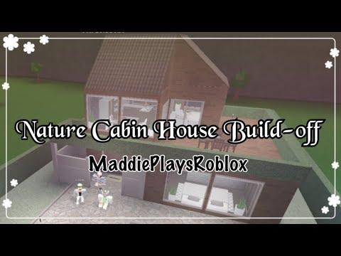 Bloxburg Nature Cabin House Build Off W