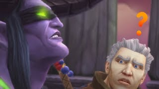 Talking about Tomb of Sargeras End Cinematic