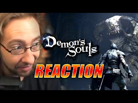 MAX REACTS: Demon's Souls – THIS IS NEXT GEN! PS5 Gameplay Trailer