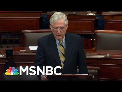 McConnell Threw '...Fistfuls Of Dirt On The Political Grave of Donald Trump' Says Brian Williams