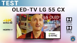 TEST : OLED-TV LG 55CX (GAMING NVIDIA, HDMI 2.1, Dolby Vision / Atmos...) !