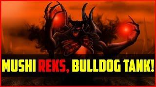 Mad Rekt By Mushi & Bulldog Unkillable?! [a] Vs Fnatic @ Mlg Lan Finals