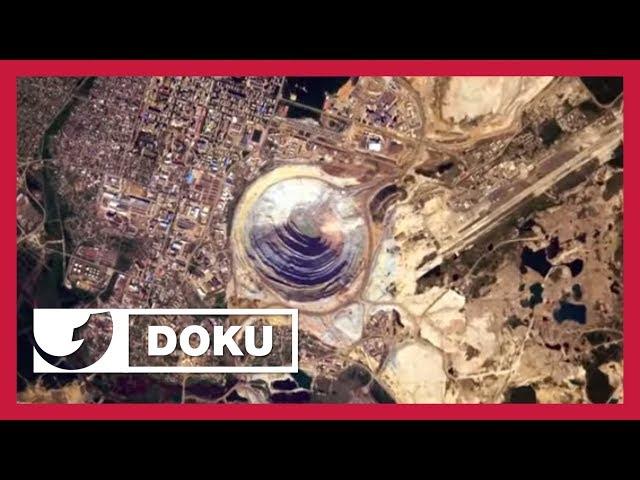 Die geheimnisvolle Diamantenmine in einem der tiefsten Löcher der Erde | Doku