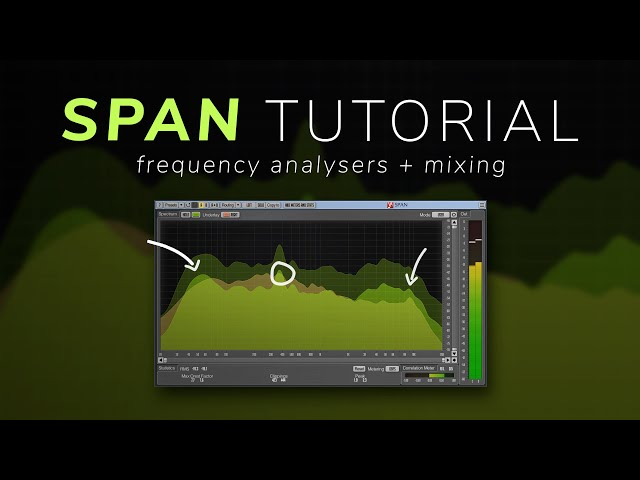 How To Mix With a Spectrum Analyser - SPAN Tutorial