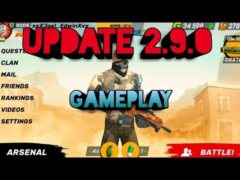Guns of Boom : New Update 2.9.0 First Gameplay