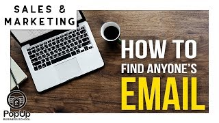 How to Find Anyone's Email