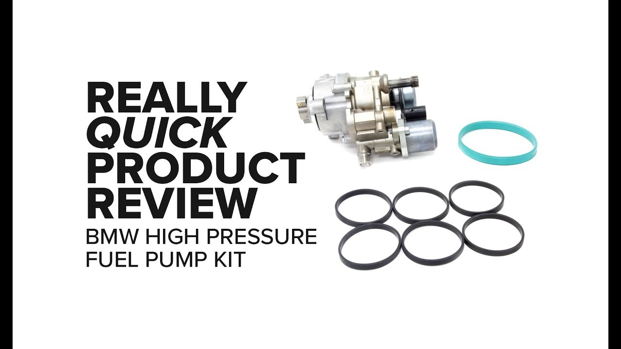 BMW N54/N55 High Pressure Fuel Pump Kit - Failure Symptoms, Replacement,  Cost, and Product Review