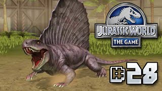 Dimetrodon Released! || Jurassic World - The Game - Ep 28 HD