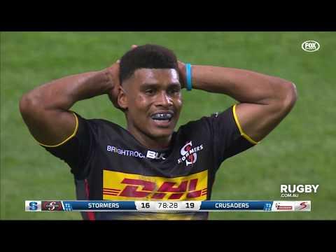 Super Rugby 2019 Round 14: Stormers vs Crusaders