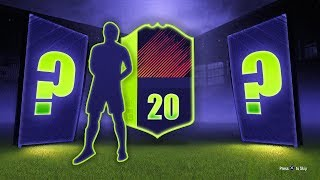 INSANE LUCK! 20 x PTG GUARANTEED PACKS! - FIFA 18 Ultimate Team