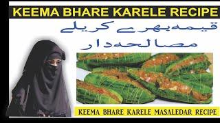 Stuffed karela recipe by village wali recipes