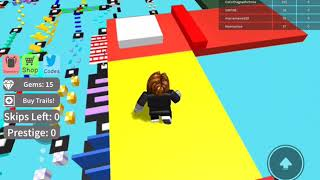 Hey there just playing ROBLOX really easy obby!!!!!