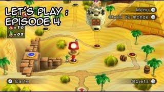 Let's play New Super Mario Bros Wii   Le désert impardonnable   Episode 4
