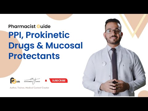 Pharmacist Guide (9) - Proton Pump Inhibitor, Prokinetic Drugs and  Mucosal Protectants