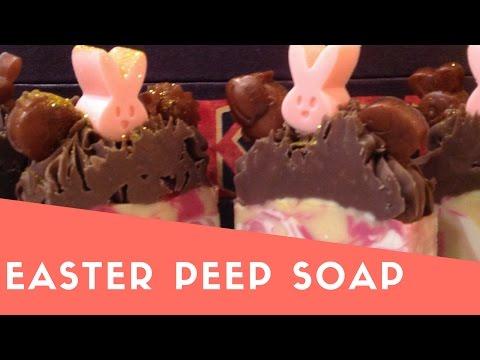 EASTER PEEP SOAP