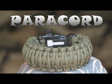 Плетение браслета выживания из Паракорда
