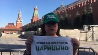 Дольщики ЖК Царицыно дошли до Красной площади