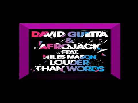 David Guetta Feat Afrojack Louder Than Words