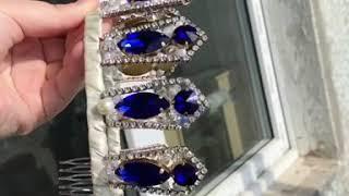 Свадебная корона в стиле