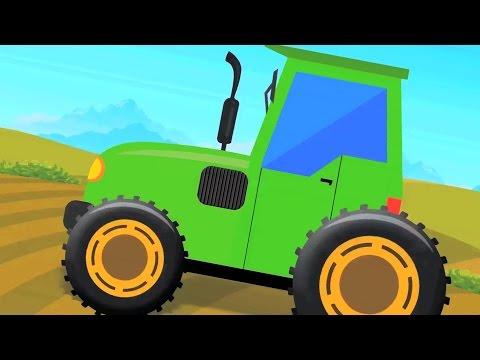 Traktor für Kinder | lernen Traktor | Traktor verwendet Video für Kinder