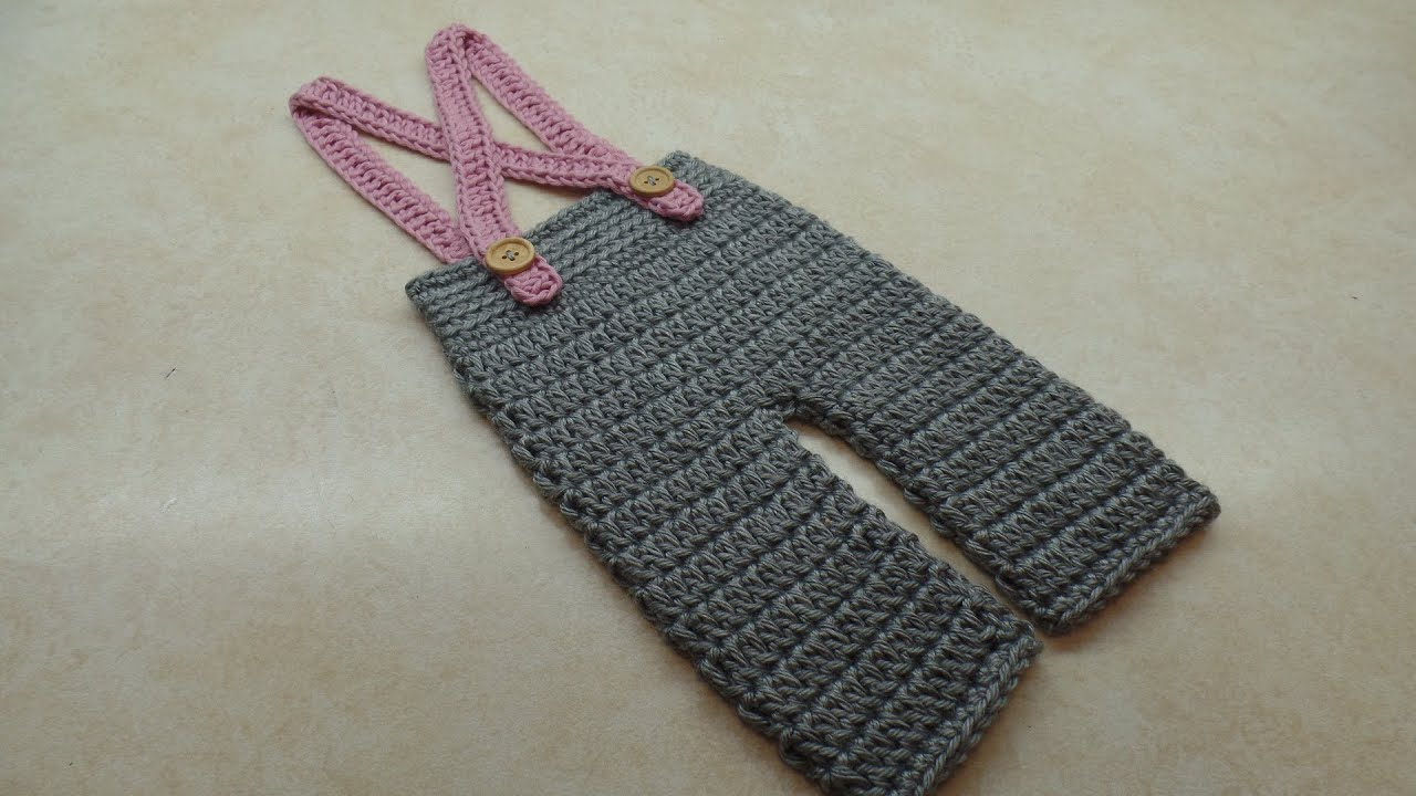 Crochet How To Crochet Baby Pants Crochet Newborn Suspenders