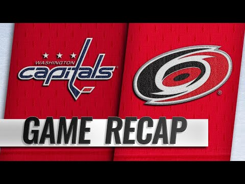 Slavin, Staal power Hurricanes past Capitals, 5-1