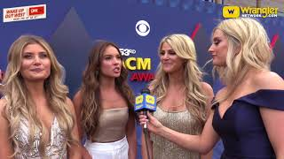 2018 ACM Awards Red Carpet with Runaway June