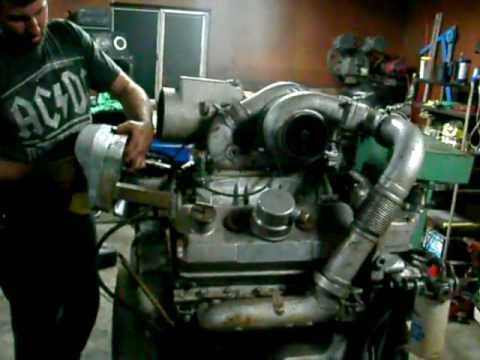 Diesel Engine Working >> 6v92 Silver Detroit Diesel - YouTube