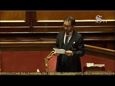Alfonso Bonafede Chiarisce Su Nino Di Matteo